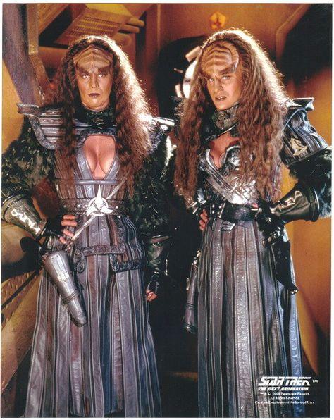 Star trek next generation klingon women nude excellent idea