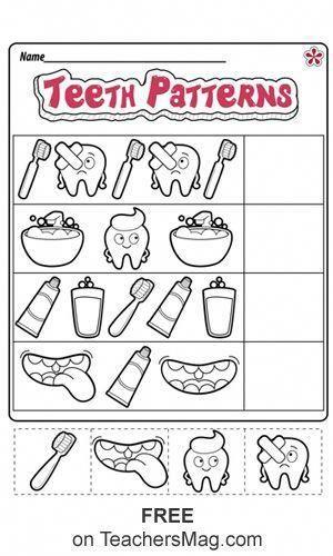 Dental Health Worksheets For Preschool And Kindergarten In 2020 Dental Health Preschool Crafts Dental Health Preschool Activities Dental Health Free dental health worksheets for