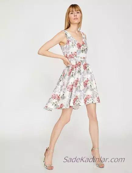 Koton Beyaz Elbise Modelleri Ile Bas Dondurucu Siklik 2020 Elbise Modelleri Elbise Elbiseler