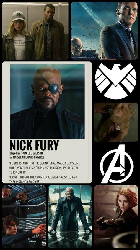 Nick Fury wallpaper
