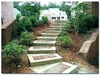 Patios Made With 6x6 Timber Google Search Landscape Timbers Outdoor Walkway Landscape Steps