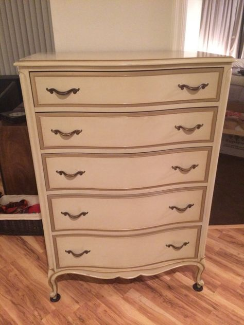"""Vintage French Provincial Bedroom Set by Drexel """"Touraine"""