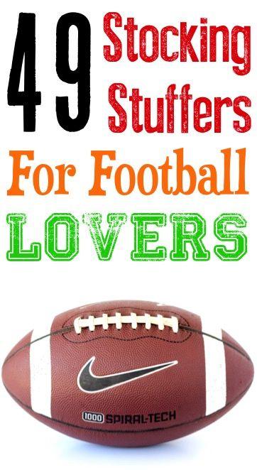 49 Stocking Stuffers For Football Lovers Posts By Diy Thrill