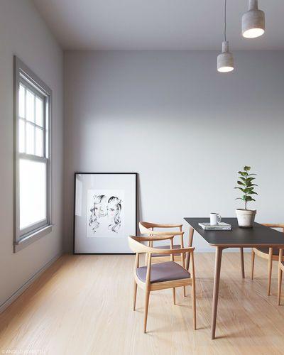 Simple Room 3d Model Simple Room Interior Simple Interior