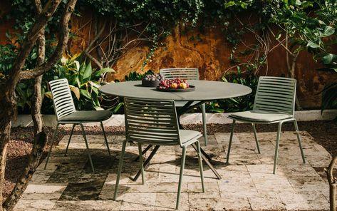 Moai Table Repas Ronde Mobilier De Salon Mobilier Jardin Et