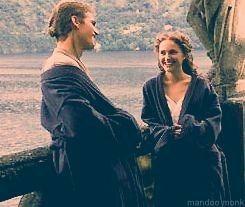 Hayden Christensen And Natalie Portman Behind The Scenes Of Star