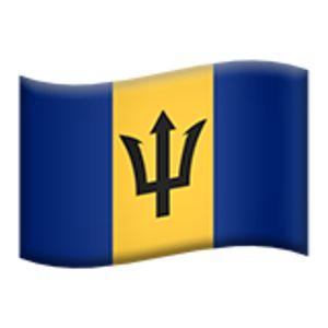 Flag Of Barbados Emoji Flag Barbados