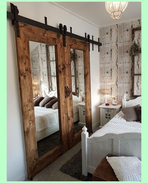 12 Cool Barn Door Closet Ideas You Can DIY