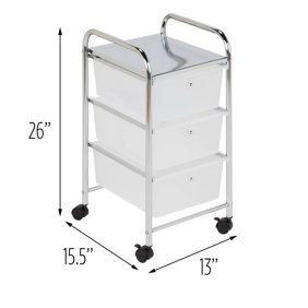 Home In 2020 Rolling Storage Cart Plastic Drawers Storage Cart