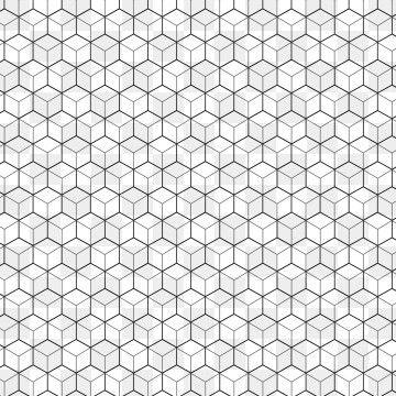 Lace Pattern Geometric Pattern Background Halftone Pattern Cube Pattern
