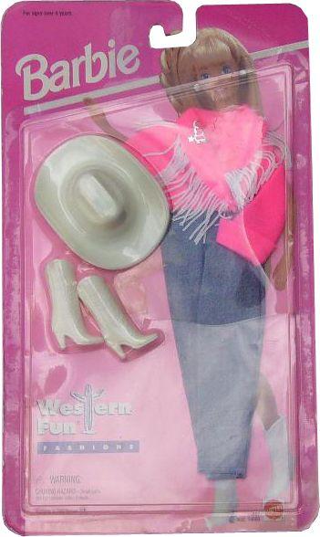 1995 Western Fun Fashions Barbie Outfit 2 14692 Asst 14693 Barbie Clothes Barbie Fashion Barbie Collection