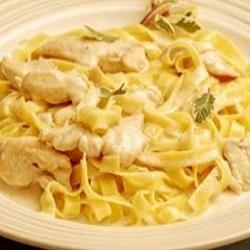 recept pasta champignons kip