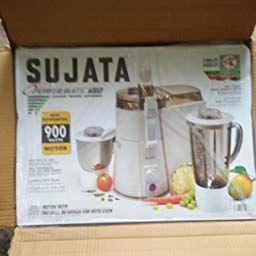 Sujata Powermatic Plus 900 Watts Juicer Mixer Grinder Amazon In Home Kitchen Juicer Grinder Mixer