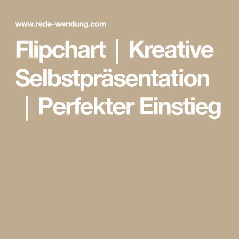 Flipchart Kreative Selbstprasentation Perfekter Einstieg Flipchart Prasentation Einstieg