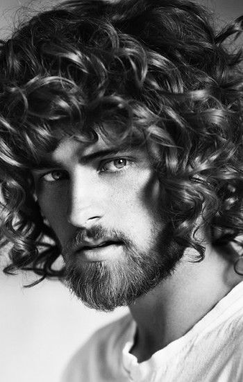Kinky Curly Straight The Raw Collection | Men's Hairstyle Photos at FashionBeans.com