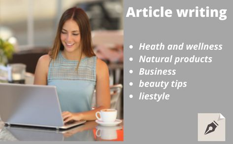 I will be your dependable article writer, create well research plagiarism free content