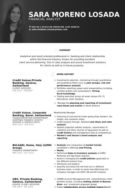 Best Images About Cv Resume Examples On   Resume