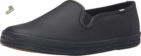 af2782d603e81 Keds Women s Champion Oxford Leather Slip On Fashion Sneaker Black 7 M US -  Keds sneakers for women ( Amazon Partner-Link)