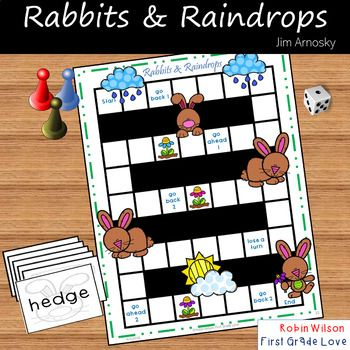 Rabbits And Raindrops Book Companion Reading Stations First Grade Classroom Activities