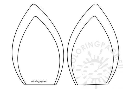 Unicorn Horn Template Printable Then Unicorn Horn Decal In 2020