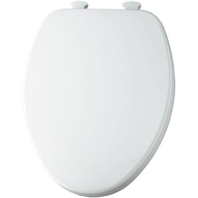 Church Elongated Closed Front Toilet Seat In White Products In