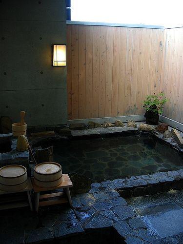 Bano Japones En 2019 Bano Tradicional Bano Japones Y Banos