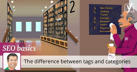 What is the difference between tags and categories • SEO for beginners • Yoast
