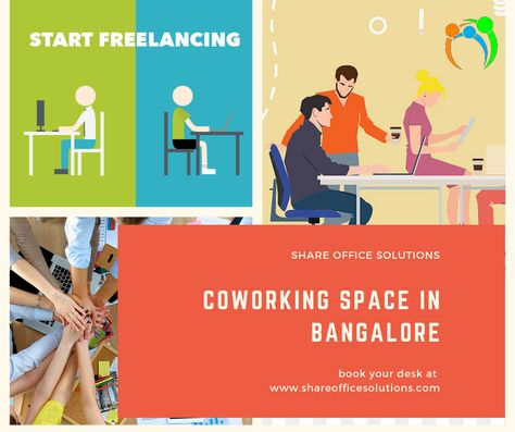 Coworking fully functional office spaces for rent at Bangalore
