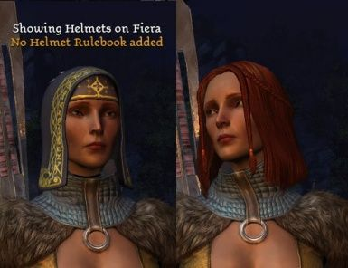 This Hack Removes The Helmet Graphic From Party Members By Placing Helmets In The Invisible Helmet Hacks Dragon Age