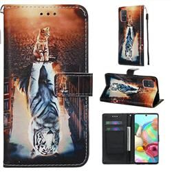Head Case Designs Sloth Spirit Animal Illustrations Soft Gel Case Compatible for Samsung Galaxy A71 5G 2020