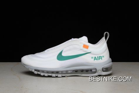 newest collection d8d4f f5151 P26 OFF-WHITE X Nike Air Max 97 Bullet Running Shoes Collaboration  Publishing Women Shoes And Men Shoes AJ4585-101 Best