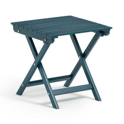 Table Basse Pliante Zeda En Acacia Table Basse Pliante Table