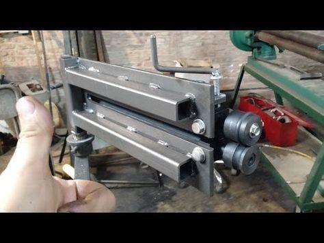 Harbor Freight Bead Roller Upgrade Youtube Metal Fabrication Tools Custom Metal Fabrication Metal Bending Tools