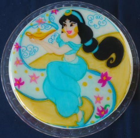 Gelatina de la princesa Jasmin de la pelicula de Aladin // Princess Jasmine Aladdin gelatine
