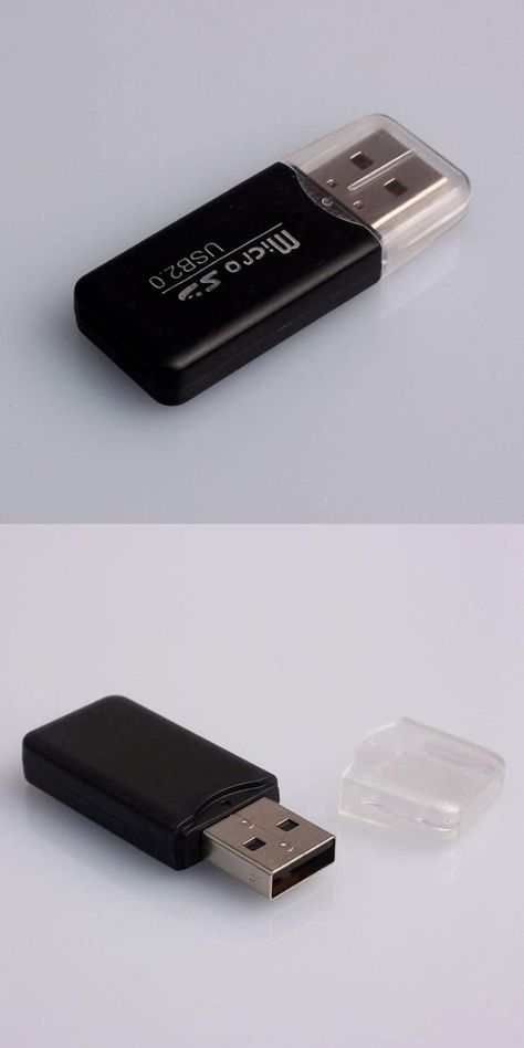 5Pcs Portable USB 2.0 Adapter MicroSD SDHC Memory Card Reader//Writer Flash Drive