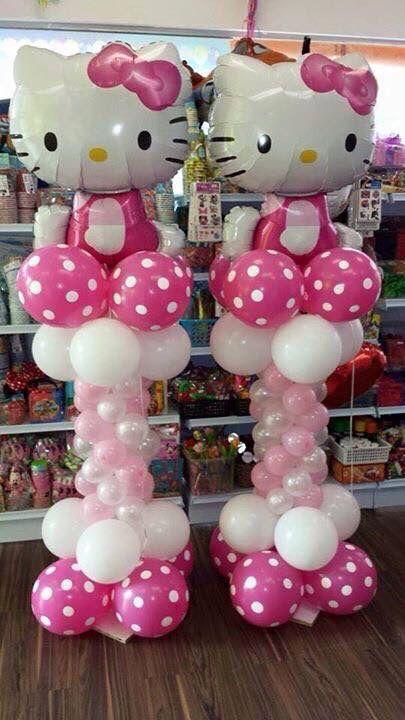 Hello Kitty balloons o(^▽^)o
