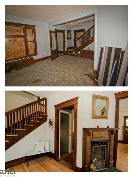 House Addic nicole curtis - rehab addict - $ dollar house before after photos