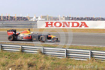 F1 Driver Max Verstappen At The Dutch Race Circuit Zandvoort During The Jumbo Racing Days He Is Formula One Driver For T Racing Max Verstappen Red Bull Racing