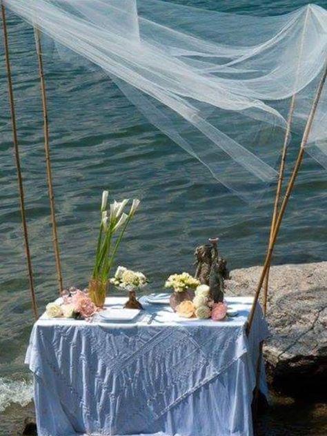 Tavolo romantico per due....