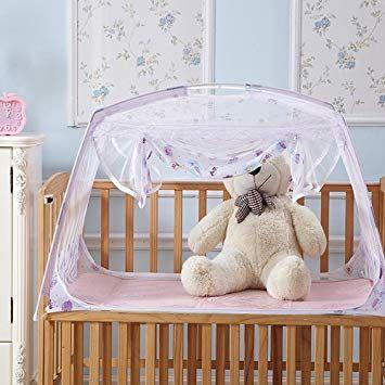 Ruihome Baby Crib Tent Safety Net Portable Summer Beach Playpen