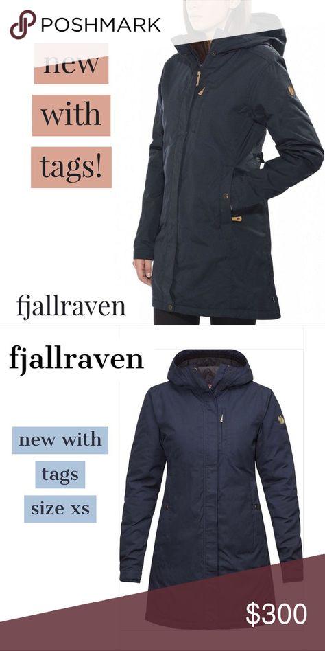 Fjallraven Kiruna Padded Parka W XS New with Tags Fjallraven