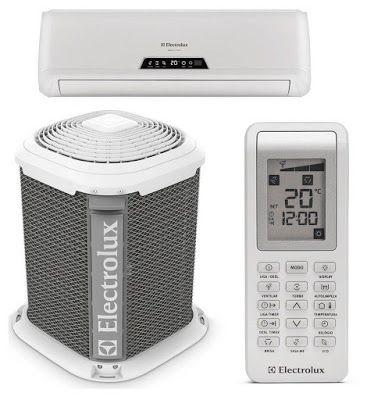 Ar Condicionado Split Electrolux 9000 Btus Ve09f Vi09f Ar