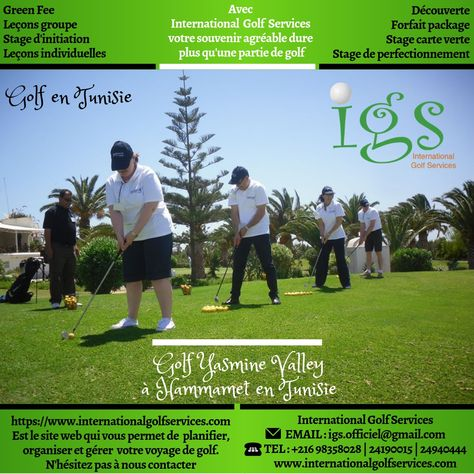 Tarifs Du Golf Yasmine Valley A Hammamet En Tunisie Golf