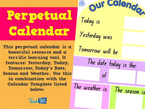 Poster - Internet Safety Health and Physical Education Pinterest - Perpetual Calendar Template