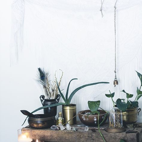 """A #home_altar is a way to pay respect to our ancestors and the world around us. It reminds us that whatever we love is also within us."" #Thich_Nhat_Hanh"