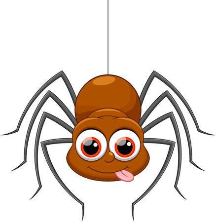 Cute Spider Cartoon Spider Cartoon Spider Drawing Toddler Art Projects