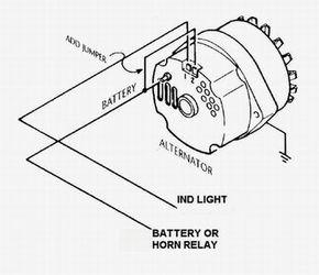 Gm 3 Wire Alternator Idiot Light Hook Up Hot Rod Forum Hotrodders Bulletin Board Alternator Truck Repair Auto Repair