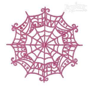 Spider Web Embroidery Design In 2020 Animal Embroidery Designs Embroidery Designs Machine Embroidery Designs
