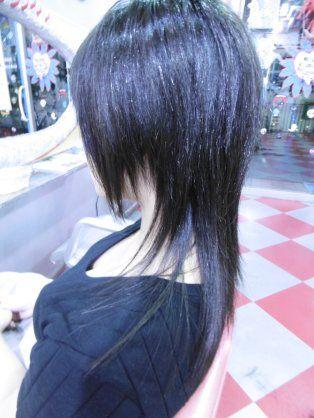 ウルフカット ロング ストレート Yahoo 検索 画像 V系 髪型 レイヤーカットヘア ヘアスタイル
