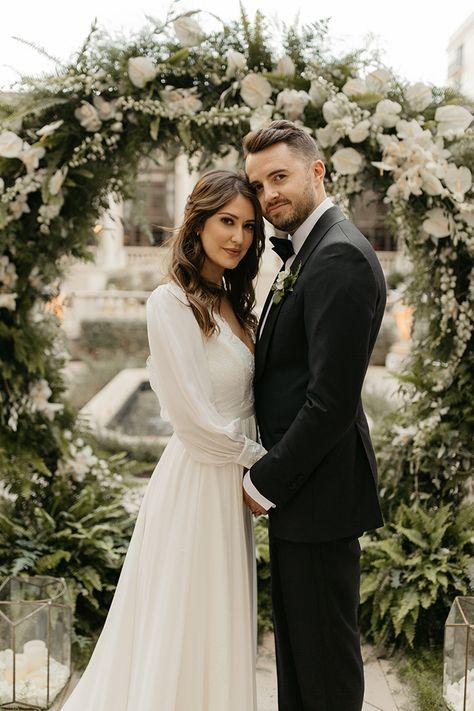 Real Wedding Elyse Stefan At The Breakers Palm Beach Long